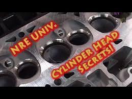 nre university cylinder head secrets