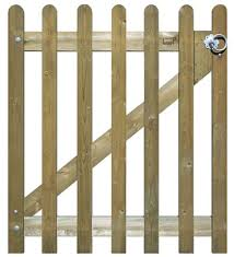 Round Pale Picket Fence Gate Jacksons Fencing