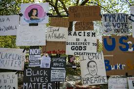 George Floyd Protesters Turn White House Fence Into Memorial Wall Pennlive Com
