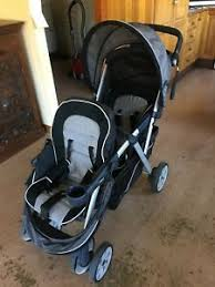 chicco cortina together tandem stroller