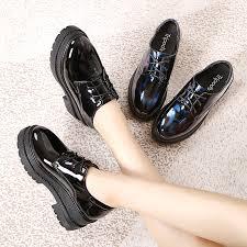black patent leather shoes women s