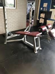 hammer strength decline bench barbell