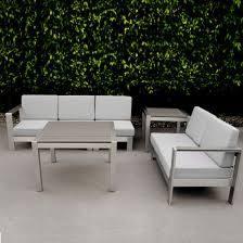 garden furniture poly wood aluminum