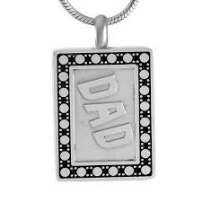 urn necklace hold ashes stainless steel