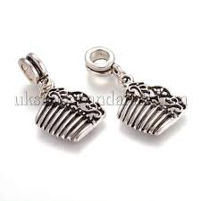 whole alloy european dangle beads
