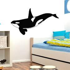 32 60cm Orca Killer Whale Wall Decor Vinyl Sticker Decal For Kids Room Decor Wish