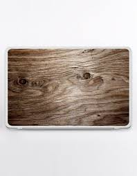 Laptop Sticker Decal With Wood Skin For Any Laptop Wooden Etsy