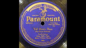 Tall Brown Blues (Priscilla Stewart) - YouTube