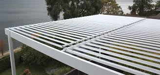 louvered roof pergola patio cover