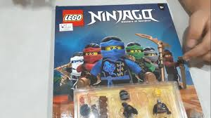 LEGO Ninjago Official Annual 2017 - Open and Build - YouTube