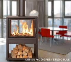 2 sided wood burning fireplace by