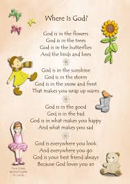 where is god inspirational poems