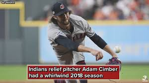 Adam Cimber recounts having to reschedule wedding to make playoff  appearance with Cleveland Indians | wkyc.com