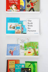 Using Ikea Picture Ledges As Bookshelves In A Nursery The Sweetest Digs