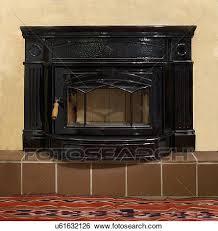 hampton h1300 wood burning cast iron
