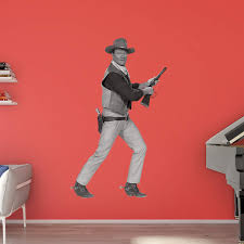 Fathead John Wayne In Action Wall Decal Walmart Com Walmart Com
