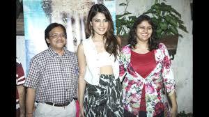 Actress Rhea Chakraborty and Family ...