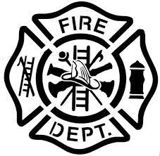 Fire Department Car Decal Sticker Etsy