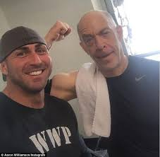J.K. Simmons' trainer reveals how the star got completely 'ripped' in 2020  | Jk simmons, New york daily news, Pumping iron