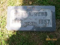 Ruby Alice Whitcomb Webb (1882-1957) - Find A Grave Memorial