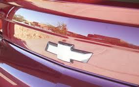 2010 2013 Chevrolet Camaro Rear Bowtie Overlay Decal