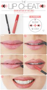 make your lips look fuller tutorial on
