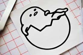 Egg Man Gudetama Vinyl Decal Sticker Etsy In 2020 Vinyl Decal Stickers Vinyl Decals Sticker Shop