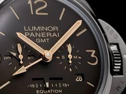 panerai luminor 1950 equation of time