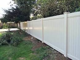 Pvc Fencing 6 X 8 Ft Vinyl Fence Panel Complete Set Ebay