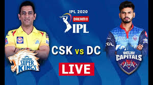 IPL 2020 CSK vs DC LIVE STREAMING - YouTube