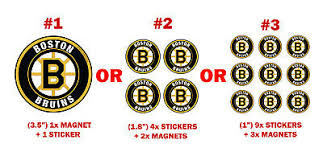 Boston Bruins Decal Sticker Pc Sport Magnet Car Fridge Ps Magnets Free Stickers Ebay