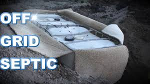 off grid septic using totes you