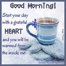 christmas winter good morning quotes