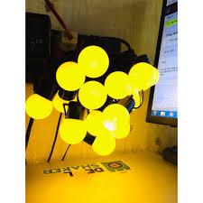 Dây đèn led quả tròn ánh sáng vàng chanh ấm 4,5 mét - PTV
