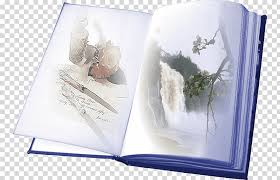 coffee table book paper montage