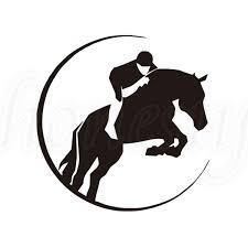 6 I Love My Dressage Horse Vinyl Decal Car Window Laptop Sticker Equine