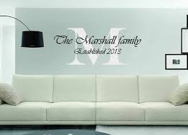 Vinyl Wall Decal Personalized Family Name Vinyl Lettering Etsy