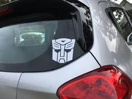 Autobot Decal Vinyl Decal Decal Sticker Hero Decal Etsy