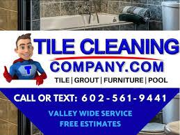 tile grout cleaning service phoenix az