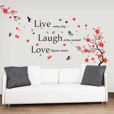 Walplus Blossom And Classic Live Wall Decal Reviews Wayfair
