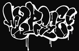 draw your name in graffiti letters