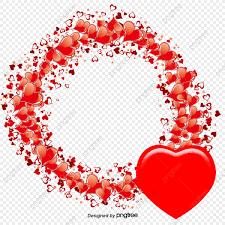 خلفيات عيد الحب الحب الدوائر قلب Png وملف Psd للتحميل مجانا