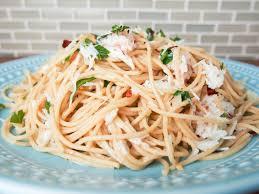 Crab pasta - Caroline's Cooking