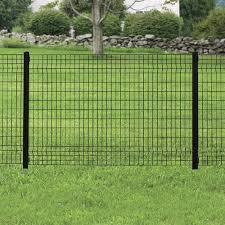 4 X 6 Black Euro Fence Panel At Menards