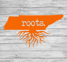 Tennessee Roots Cup Or Car Decal Etsy