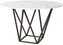 maklaine 51 2 round dining table
