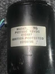 aircraft electric motor 410497 parker