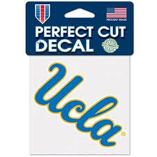 Amazon Com Ucla Bruins Logo Perfect Cut Decal 4 X 4 Colored Automotive