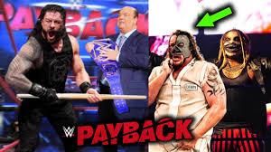 WWE Payback 2020 SURPRISES, SPOILERS ...