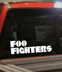 Foo Fighters Band Decal North 49 Decals
